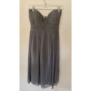 Donna Morgan Silk Bridesmaid Dress